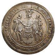 Medal zaślubinowy - Władysław IV Waza (Gdańsk mint) – obverse