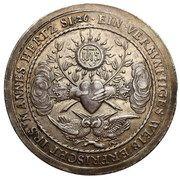 Medal zaślubinowy - Władysław IV Waza (Gdańsk mint) – reverse