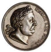 Medal - Jan III Sobieski (Gdańsk mint) – obverse