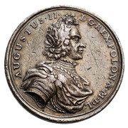 Medal Koronacyjny - August II Mocny – obverse