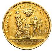 Medal zaślubinowy - Maria Józefa – reverse