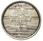 Medal - August III Sas (Gdańsk mint) – reverse