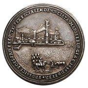 Medal - August III Sas (Toruń mint) – reverse