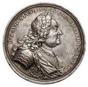 Medal koronacyjny - August III Sas – obverse