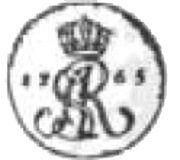 Półgrosz koronny - Stanisław August Poniatowski (Kraków mint) – obverse