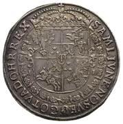 Talar koronny - Interregnum (Bydgoszcz mint) – reverse