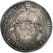 Talar toruński - Interregnum (Toruń mint) – reverse