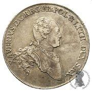 Talar - Ksawery as Polish Prince (Drezno mint) – obverse