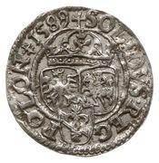 Szeląg koronny - Zygmunt III Waza (Olkusz mint) – reverse
