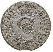 Szeląg koronny - Zygmunt III Waza (Malbork mint) – obverse