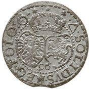 Szeląg koronny - Zygmunt III Waza (Malbork mint) – reverse