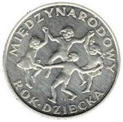 20 Złotych (International Year of the Child) -  reverse