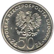 50 Złotych (General Władysław Sikorski) -  obverse