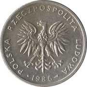 20 Złotych (large type) -  obverse