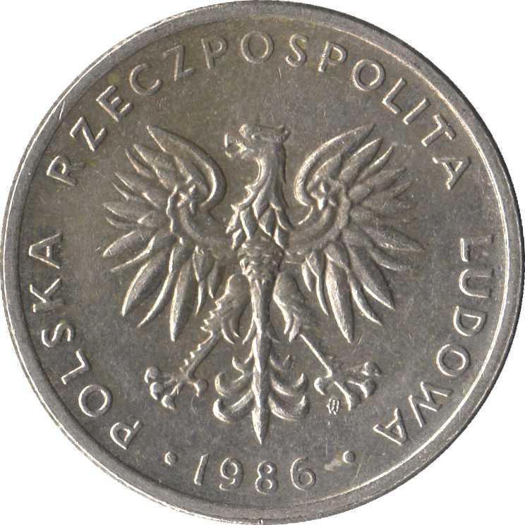 20 злотых 1986 г купить юбилейные рубли ссср в украине