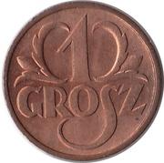 1 Grosz – reverse
