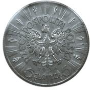 5 Złotych (Józef Piłsudski) -  obverse