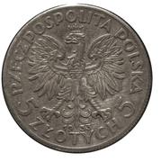 5 Złotych (Polonia) -  obverse