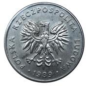20 Złotych (small type) -  obverse