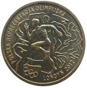 2 Złote (2012 London Olympics) -  reverse