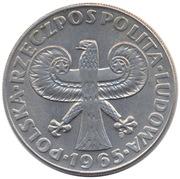 10 Złotych (700th Anniversary of Warsaw) -  obverse