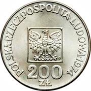 200 Złotych (People's Republic) -  obverse