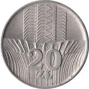 20 Złotych -  reverse