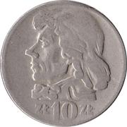 10 Złotych (Tadeusz Kosciuszko, large type) -  reverse