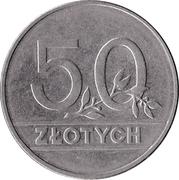 50 Złotych -  reverse