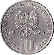 10 Złotych (Bolesław Prus) -  obverse