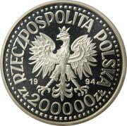 200 000 Złotych (Zygmunt I bust) -  obverse