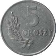 5 Groszy -  reverse