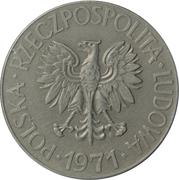 10 Złotych (Tadeusz Kosciuszko, small type) -  obverse