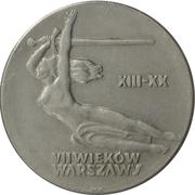 10 Złotych (700th Anniversary of Warsaw - Nike) -  reverse