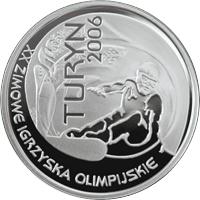Poland Turyn Igrzyska 2006 MW silver 10 zlotych