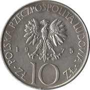 10 Złotych (Adam Mickiewicz) -  obverse