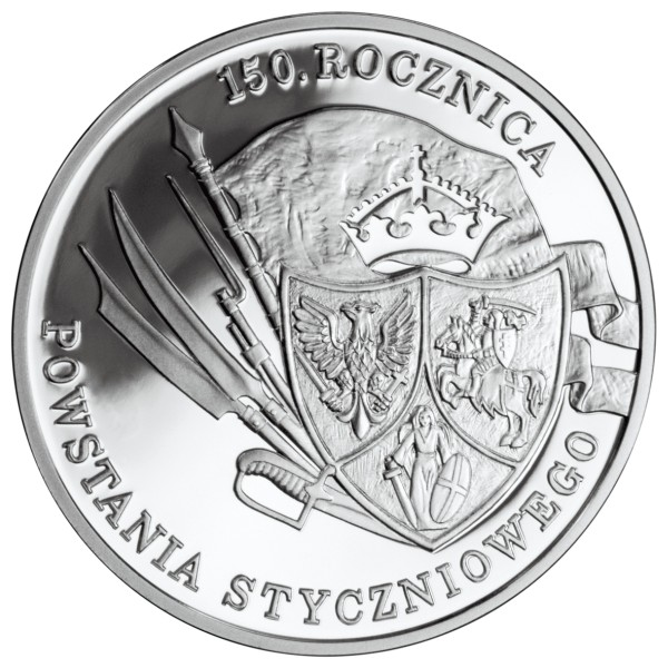"Poland 2013-2 zlotych /""January 1863 Uprising/"" UNC"
