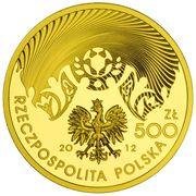 500 Zlotych (2012 UEFA European Football Championship) – obverse