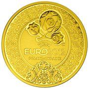 500 Zlotych (2012 UEFA European Football Championship) – reverse
