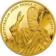 1000 Złotych (Beatification of John Paul II) – reverse
