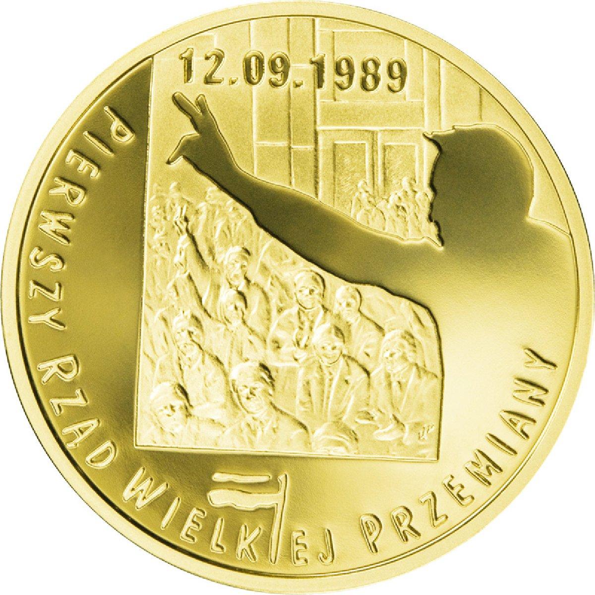 NGC PF69 Poland 2009 Solidarity 25 zl GOLD