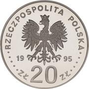 20 Złotych (Katyń Miednoje Charków 1940 Massacres) -  obverse