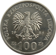 100 Złotych (Wladyslaw I Lokietek) -  obverse
