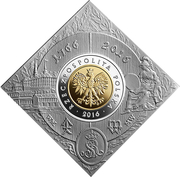 5 Złotych (Foundation of the Warsaw Mint) -  obverse