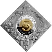 5 Złotych (Foundation of the Warsaw Mint) -  reverse