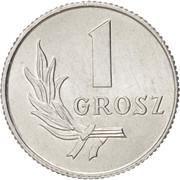 1 Grosz -  reverse