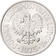 50 Groszy (large date) -  obverse