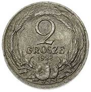 2 Grosze (Trial Strike Ag) – obverse