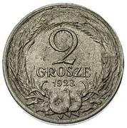 2 Grosze (Trial Strike Ag) – reverse