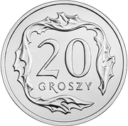 20 Groszy -  reverse